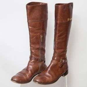 Coach Leather Riding Boots Size 8.5
